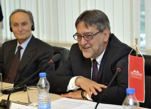 _DJT4340 Inauguracija Dominik Salvatorea i rektor Slobodan Pajovic net