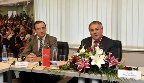 _DJT9563 Megatrend dodela pocasnog doktorata Prof Dr Mici Jovanovicu